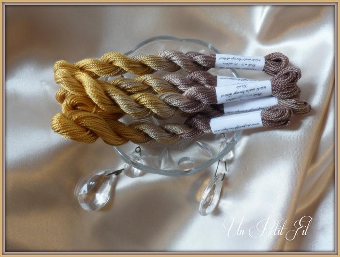 Fil perle 5 leonie