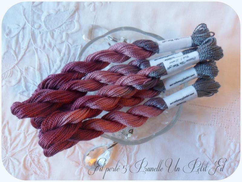 Fil perle 5 prunelle un petit fil