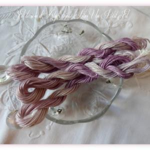 Fil soie d alger teinte lilas un petit fil 1