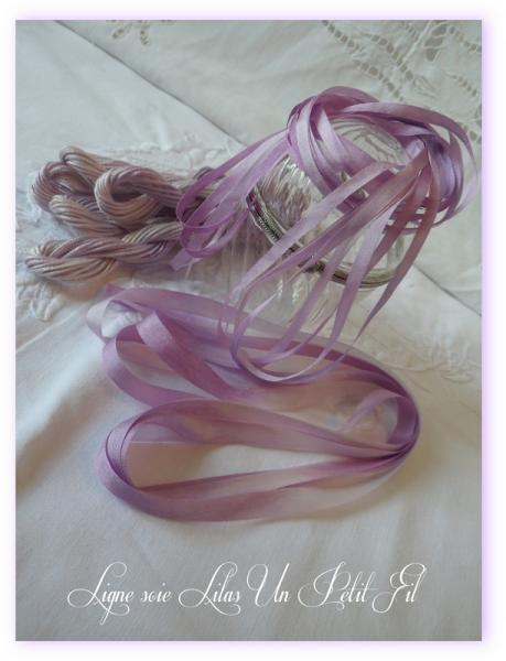 Fil soie d alger teinte lilas un petit fil 2