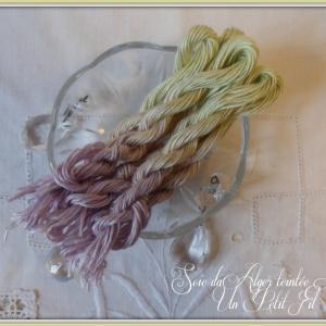 Fil soie d alger teintee linette 2