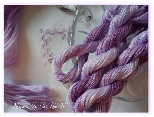 Fil teinte lilas un petit fil 2