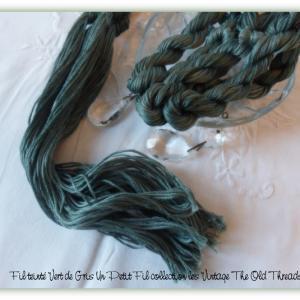 Fil vert de gris un petit fil collection les vintage the old threads