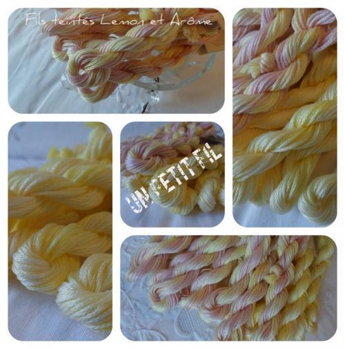 Fils teintes lemon et arome un petit fil 1