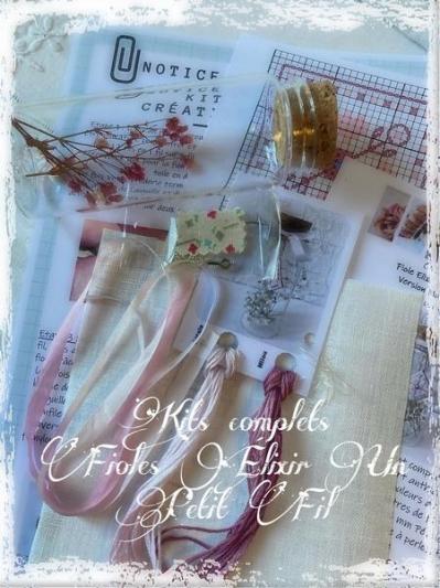 Fioles elixir flanelle et petale de rose un petit fil 2