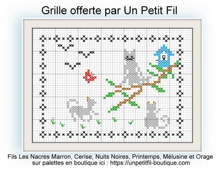 Grille offerte chat perche chat perche