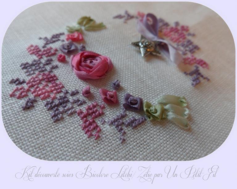 Kit découverte Soies Bicolores Zélie/Litchi