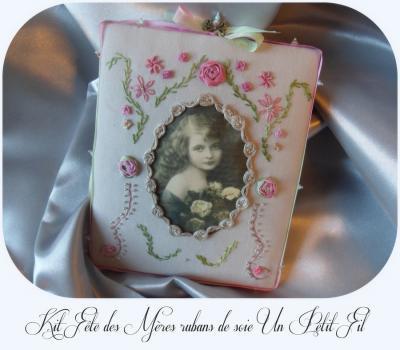 Kit Fête des Mères Rubans de soie et fils coton