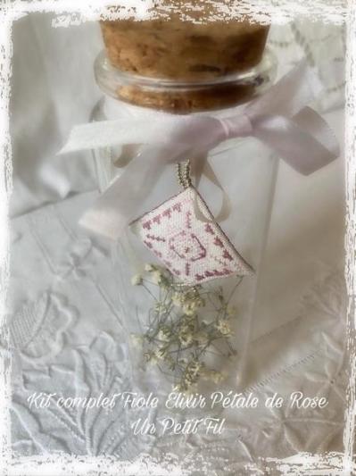 Kit fiole elixir petale de rose un petit fil 1