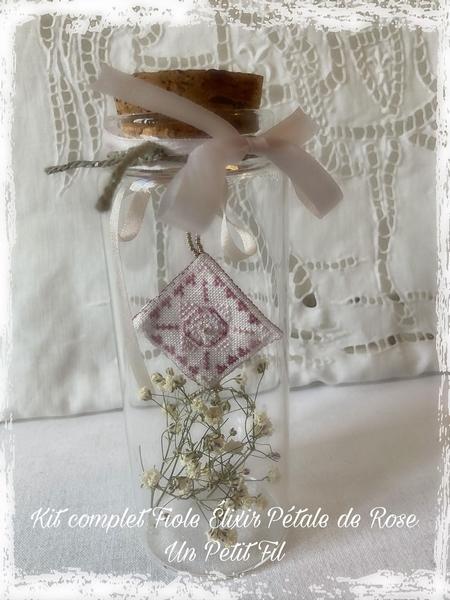 Kit fiole elixir petale de rose un petit fil 2