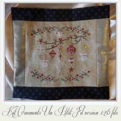 Kit Ornements (Version  12,6 fils au cm)