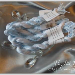 Les brumes bleues par un petit fil