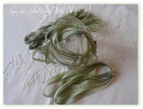 Ligne soie tilleul un petit fil 1