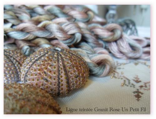 Ligne teintee granit rose un petit fil 2