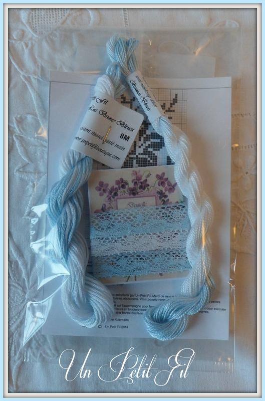 Lot decouverte brumes bleues un petit fil