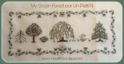 Kit My Green Forest (Version 16 fils au cm - édition limitée)