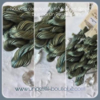 Fil Green Forest Blue (édition limitée)