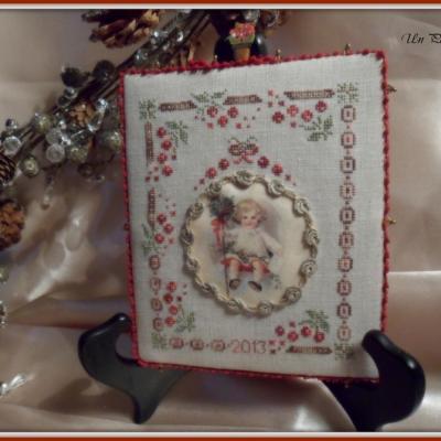 Kit Noël à l'ancienne (version toile à broder 16 fils)