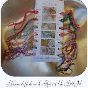 Nuancier de fils de soie 5 un petit fil