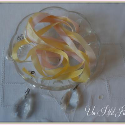 Ruban de soie Arôme 7 mm