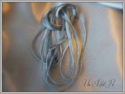 Ruban de soie Pénélope 4 mm