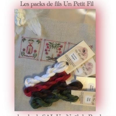 Pack Un Noël de Brodeuses 4 fils simple