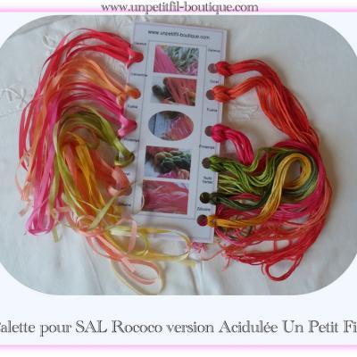 Pack SAL Rococo (version Acidulée)