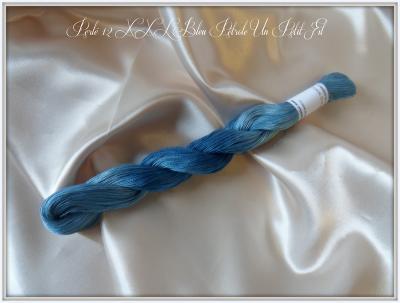 Perlé 12 XXL Bleu Pétrole