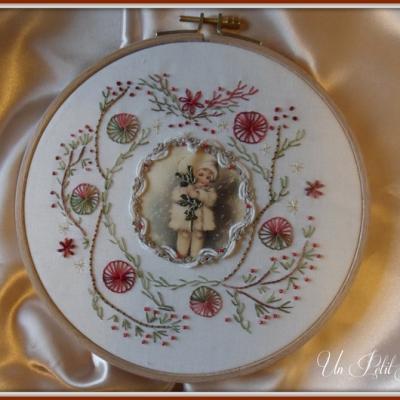 Kit Couronne de Noël (version fils coton)