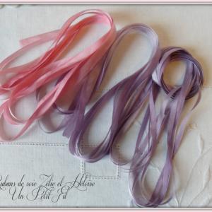Presentation rubans de soie zelie et heloise 1