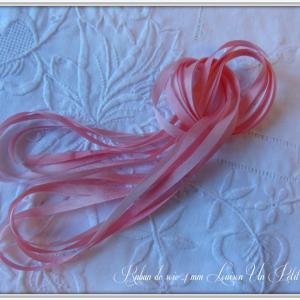 Ruban de soie 4 mm louison un petit fil