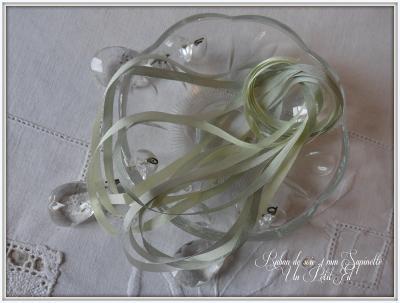 Ruban de soie Sapinette 4 mm