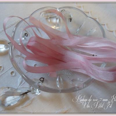 Ruban de soie Florette 7 mm