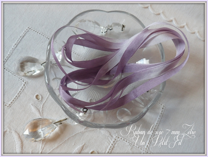 Ruban de soie 7 mm zelie 1