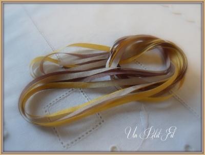 Ruban de soie Léonie 4 mm