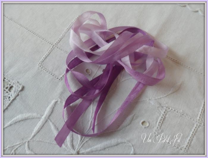 Ruban violette 7 mm 1