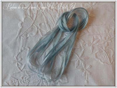 Ruban de soie Orage 4 mm