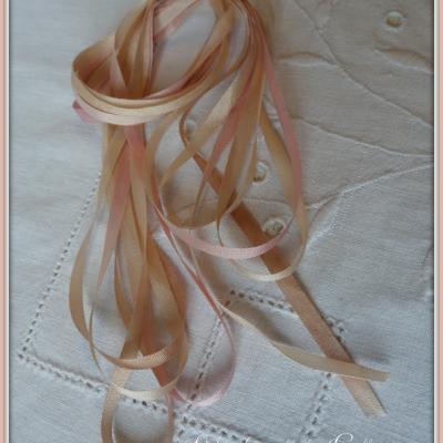 Ruban de soie Fanette 4 mm