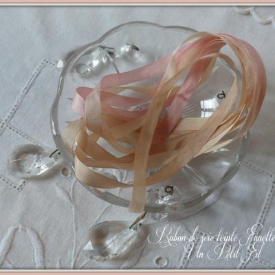 Ruban de soie Fanette 7 mm