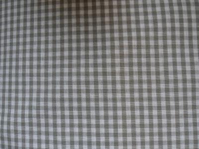 Vichy gris coupon 50 cm X 70 cm