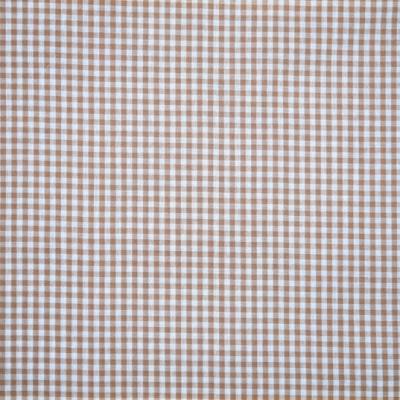 Vichy beige coupon 50 cm X 70 cm