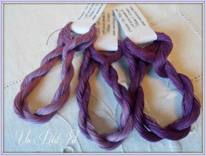 Trio violette