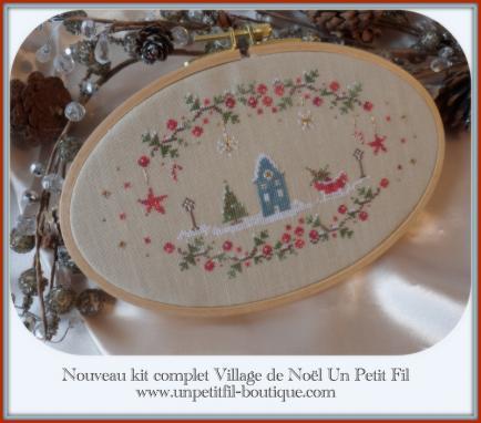 Village de noel kit un petit fil 4