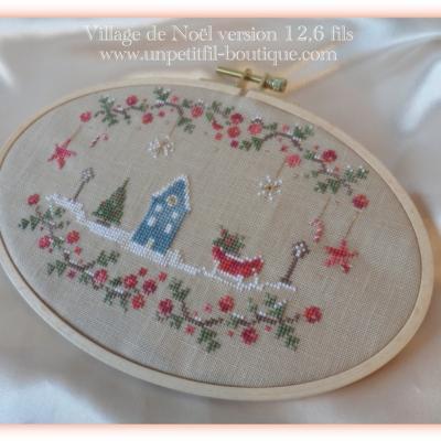 Kit Village de Noël (Version 12,6 fils au cm)
